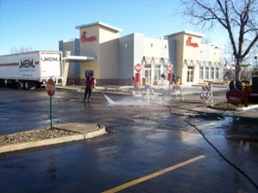 Commercial Pressure Washing Service Top Gun Pressure