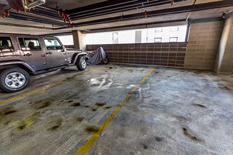 Parking Structure Cleaning