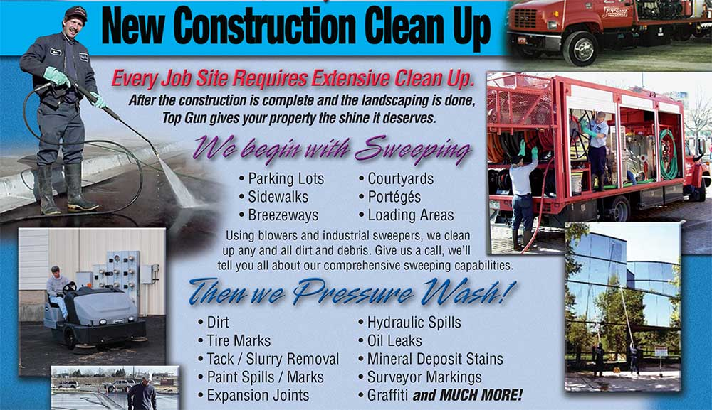 New Construction Clean-up