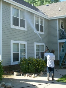 Residential Power Washing Cleaning