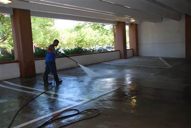 Parking Structures Amp Lots Cleaning Commercial Pressure